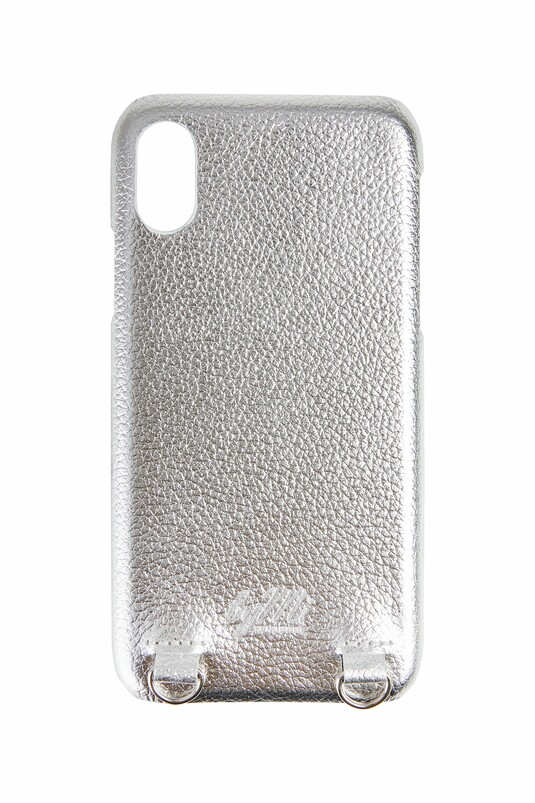 iPhone Case Silber